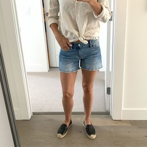 J Crew Denim Shorts - Size 24 (runs big)